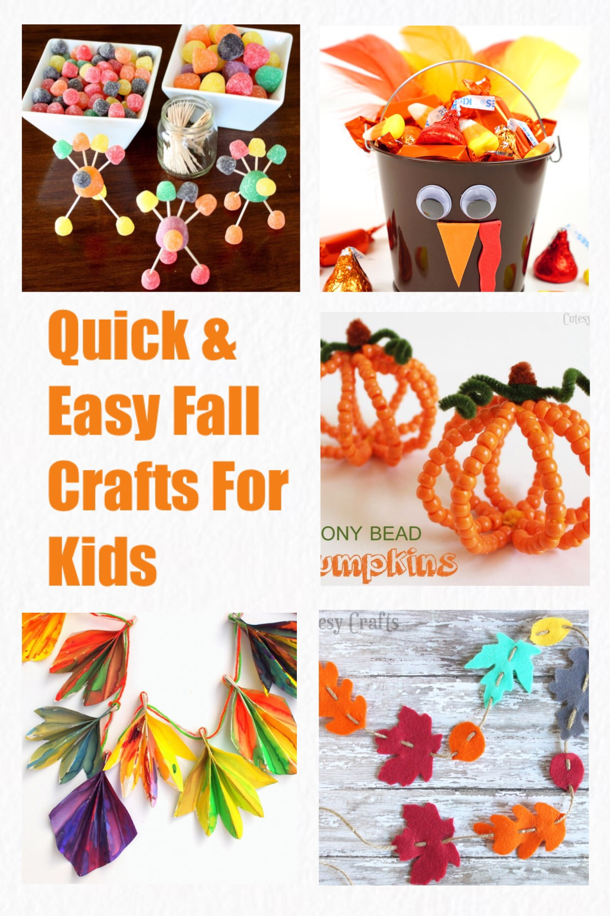 Quick Easy Fall Crafts For Kids Craftsy Mom